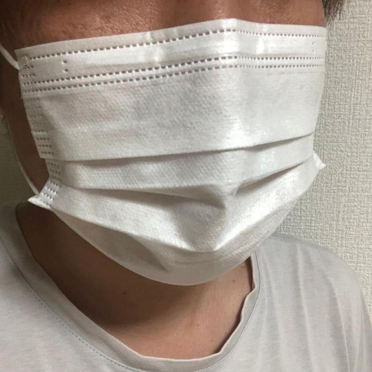 100均マスク着用感